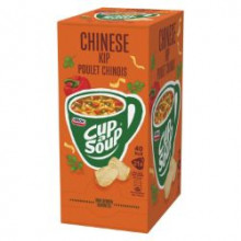 Cup a Soup Chinese Kip 175ml Unox