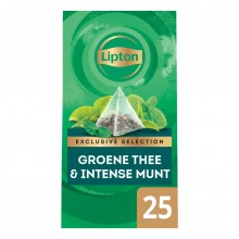 Lipton Excl.Select. Groene thee Intense Munt